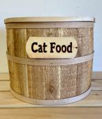 Half-Barrel Pet Food Storage Container - Small