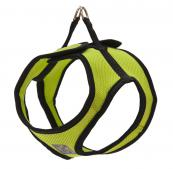 Step-In Dog Harness - Fabric - Lime Green