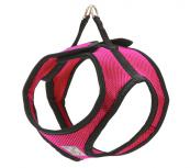 Step-In Dog Harness - Fabric - Pink