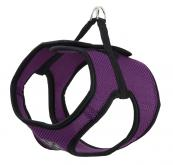 Step-In Dog Harness - Fabric - Purple