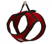 Step-In Dog Harness - Fabric - Red