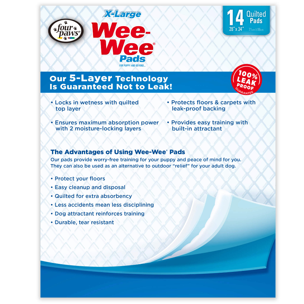 4p-dog-training-wee-wee-pads-xl-40ct-2
