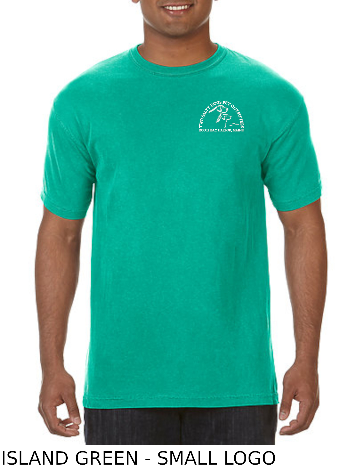 bbha-ss-t-shirt-no-pocket-island-green-front-small-logo