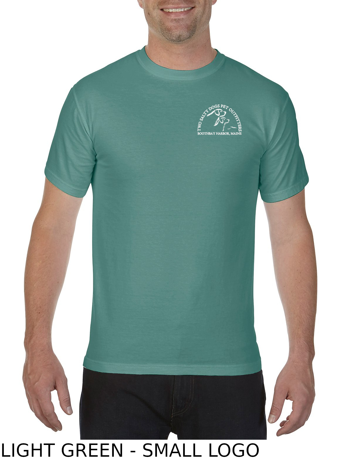 bbha-ss-t-shirt-no-pocket-light-green-front-small-logo
