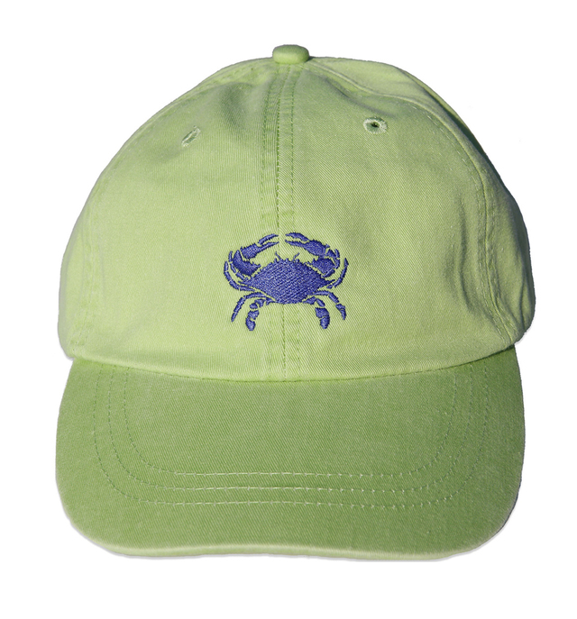 bc-baseball-hat-dark-blue-crab-on-lime