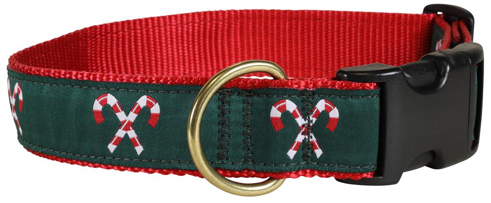 bc-ribbon-dog-collar-candy-canes-1-25-inch