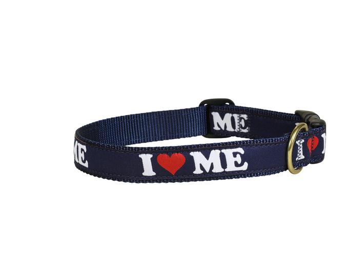 bc-ribbon-dog-collar-i-love-maine-1-inch-2