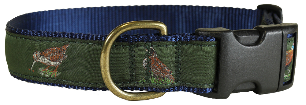 bc-ribbon-dog-collar-loden-woodland-birds-1-25