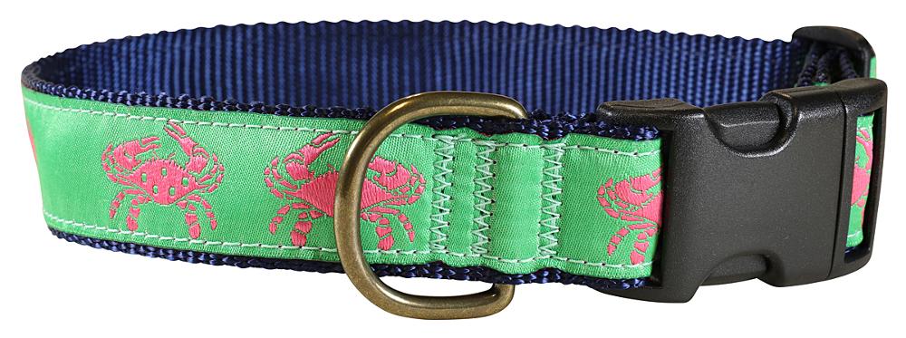 bc-ribbon-dog-collar-pink-crabs-1-25