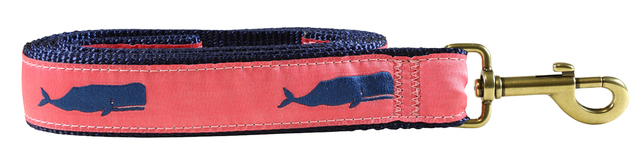bc-ribbon-dog-leash-coral-moby-whale-1-25-inch