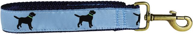 bc-ribbon-dog-leash-dusty-blue-labs-1-25-inch