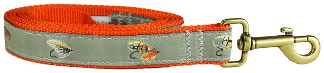 bc-ribbon-dog-leash-megan-boyd-flies-1-inch