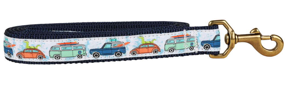 bc-ribbon-dog-leash-vw-bus-1-inch