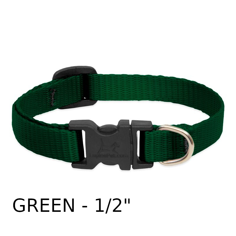 lp-dog-collar-nylon-green-1_2-inch