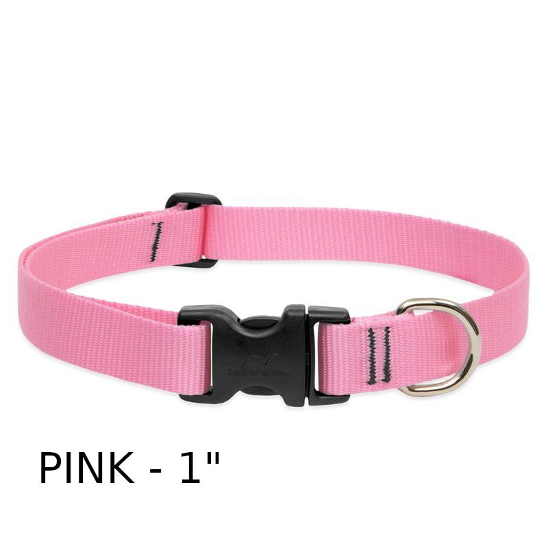 lp-dog-collar-nylon-pink-1-inch