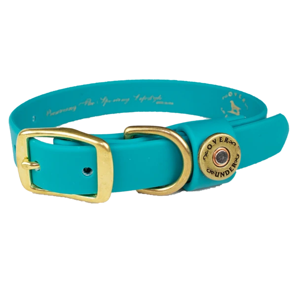 ou-waterproof-dog-collar-teal