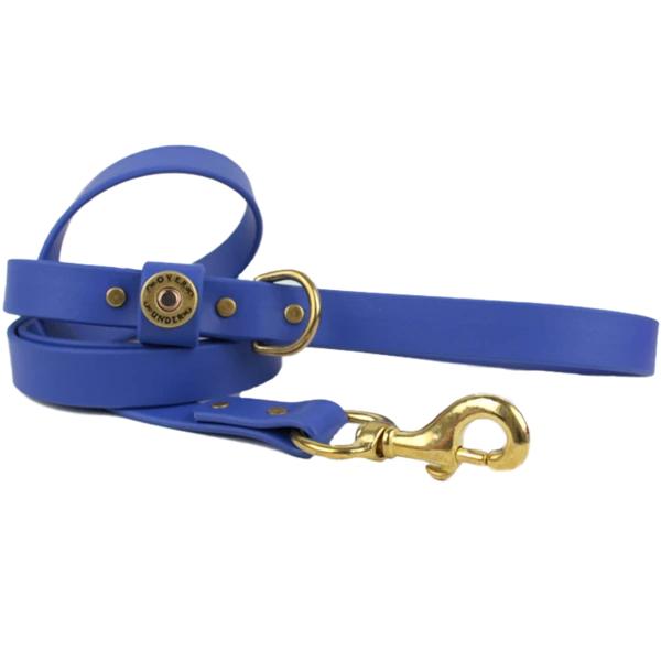 ou-waterproof-dog-leash-cobalt-blue