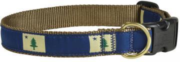 bc-ribbon-dog-collar-maine-flag-1-inch