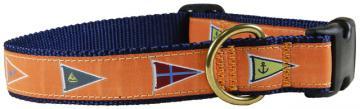 bc-ribbon-dog-collar-melon-burgees-1-inch