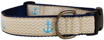 bc-ribbon-dog-collar-tan-anchors-ahoy-1-25
