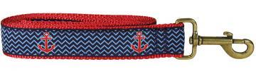 bc-ribbon-dog-leash-anchor-navy-ahoy