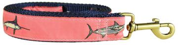 bc-ribbon-dog-leash-coral-bill-fish-1-25-inch