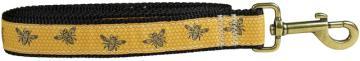 bc-ribbon-dog-leash-honey-bees-1-inch