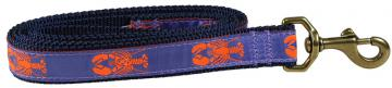 bc-ribbon-dog-leash-periwinkle-lobster-1-inch