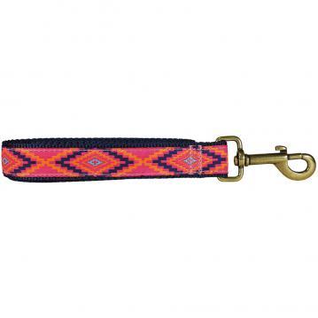 bc-ribbon-dog-leash-southwest-hot-pink