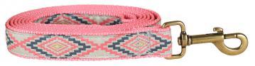 bc-ribbon-dog-leash-southwest-washed-green-1-inch