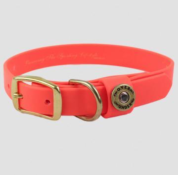 ou-waterproof-dog-collar-blaze-orange