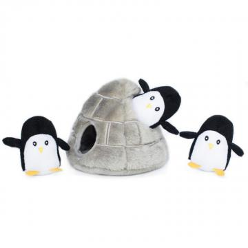 zp-penguin-burrow-soft-dog-toy-1