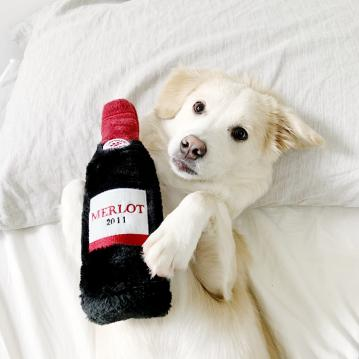 zp-squeaky-crunchy-dog-toy-merlot-1