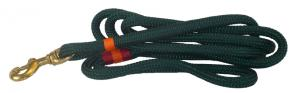 Nautical Rope Dog Leash - Dark Green