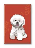 Bichon Frise (3 Magnets)