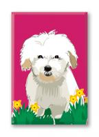 Coton de Tulear (With Flowers)