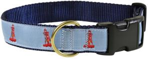 Bell Bouy - 1.25-inch Ribbon Dog Collar