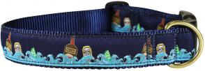 Dark and Stormy - 1.25-inch Ribbon Dog Collar