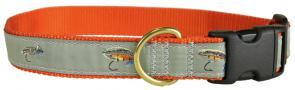 Megan Boyd Flies - Ribbon Dog Collar