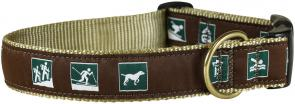 Parks and Rec - 1.25-inch Ribbon Dog Collar