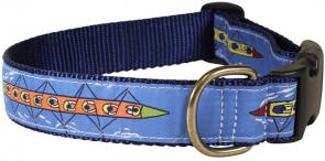 Rowing Sweep - 1.25-inch Ribbon Dog Collar