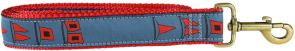 Hurricane Flags - 1.25-inch Ribbon Dog Leash