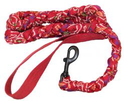 bh-braided-cloth-dog-leash-red