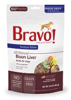 Freeze Dried Bison Liver – Dog Treat - 3oz