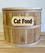Half-Barrel Pet Food Storage Container - Small