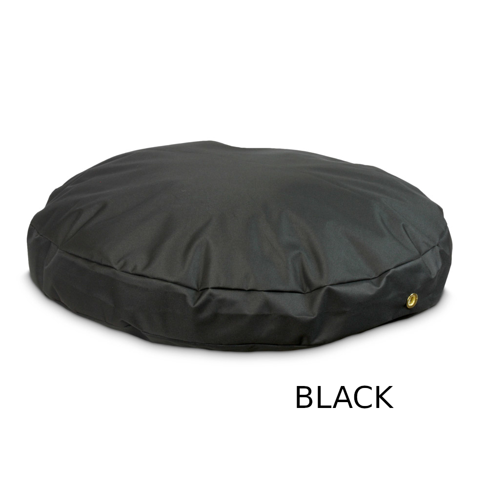 sz-round-waterproof-dog-bed-black