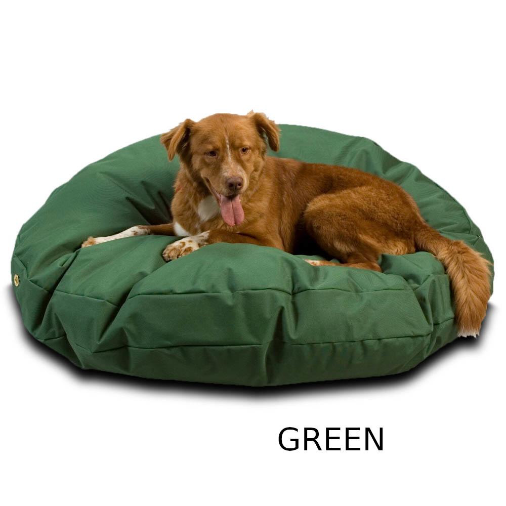 sz-round-waterproof-dog-bed-green-1