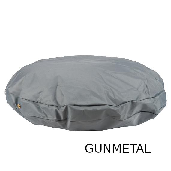 sz-round-waterproof-dog-bed-gunmetal-1