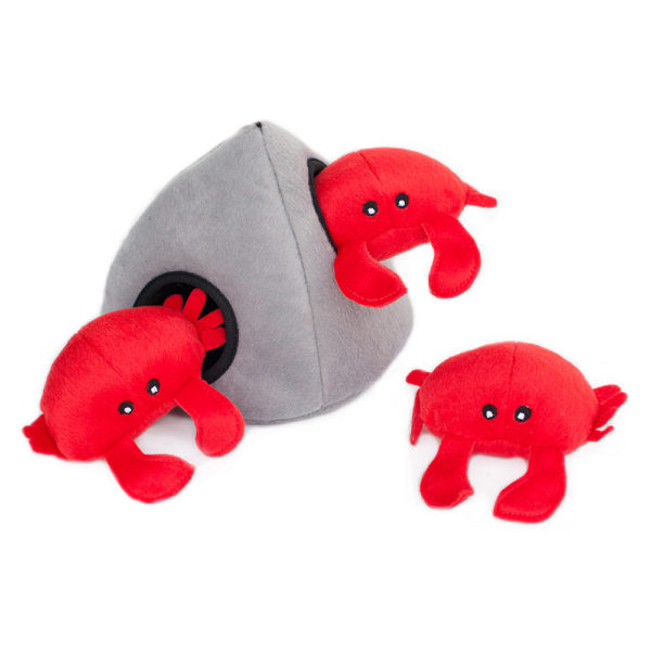 zp-red-crab-burrow-soft-dog-toy-1