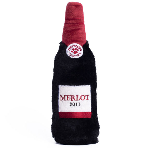 zp-squeaky-crunchy-dog-toy-merlot-front